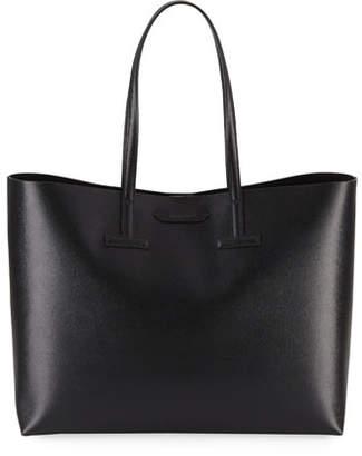 Tom Ford Medium T Saffiano Leather Tote Bag