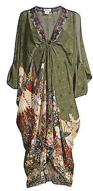 Camilla Women's Mother Silk Split-Sleeve Caftan