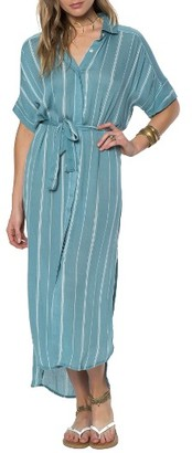 Women's O'Neill Alexandra Stripe Maxi Dress $59.50 thestylecure.com