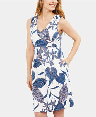 8b1d569be195e A Pea in the Pod Maternity Printed Dress