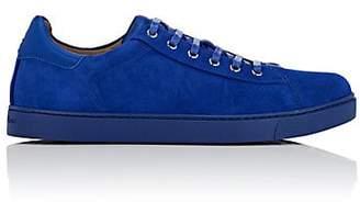Gianvito Rossi Men's Suede Sneakers - Blue