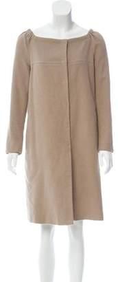 Prada Long Sleeve Mini Dress