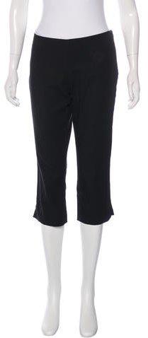 Emilio Pucci Cropped Mid-Rise Pants