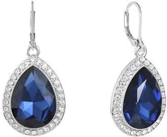 MONET JEWELRY Monet Jewelry Blue Drop Earrings