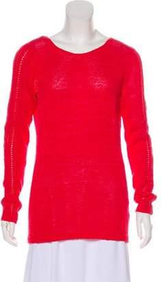 Rachel Zoe Bateau Knit Sweater