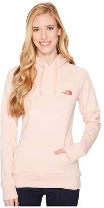 The North Face Petal Red Box Pullover Hoodie Women's Sweatshirt