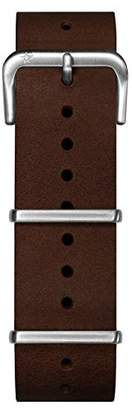 Oxygen Unisex Brown Leather Buckle Pin of 22cm EX-NL-STR-22-DB