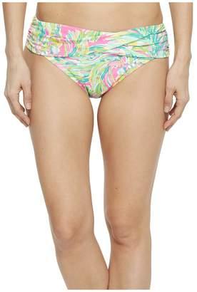 Lilly Pulitzer Lagoon Sarong Bikini Bottom Women's Swimwear