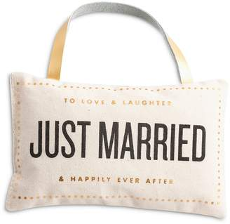 Rosanna Just Married Door Pillow