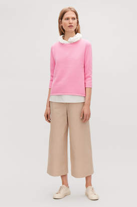 2b34e99ab04e Cos Pink Women's Sweaters - ShopStyle