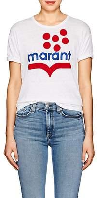 Etoile Isabel Marant Women's Koldia Flocked Linen T-Shirt
