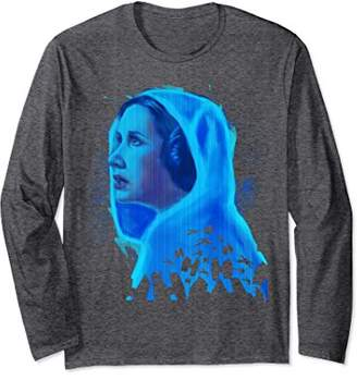 Star Wars Princess Leia Hologram Graphic Long Sleeve Tee