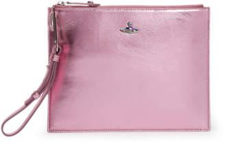 Vivienne Westwood Venice Pink Leather Pouch 131236