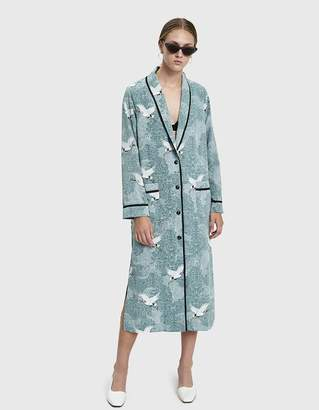 Nell Stelen Printed Robe Dress