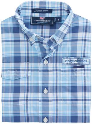 Vineyard Vines Boys Placida Plaid Harbor Shirt