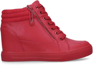 abef4a9107a4 Red High Top Trainers - ShopStyle UK
