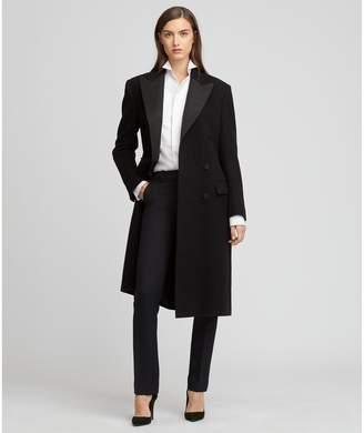 Ralph Lauren Brendan Wool Tuxedo Coat