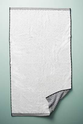 Anthropologie Dot Jacquard Hand Towel