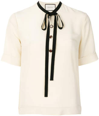Gucci bow detail top