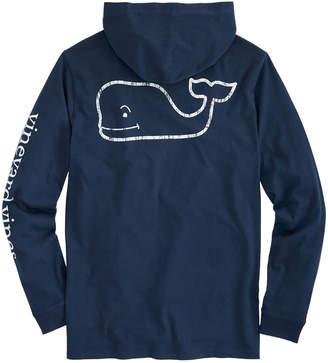 Vineyard Vines Long-Sleeve Vintage Whale Graphic Hoodie