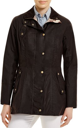 Barbour Holsteiner Waxed Cotton Jacket $429 thestylecure.com