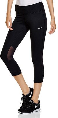 Nike Epic Run Crop Leggings $75 thestylecure.com