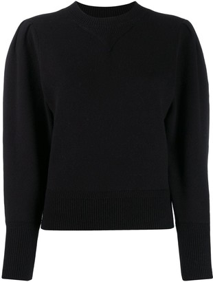 Etoile Isabel Marant puff sleeve knitted top
