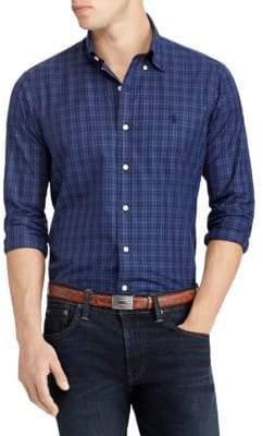 Polo Ralph Lauren Twill Long-Sleeve Sport Shirt