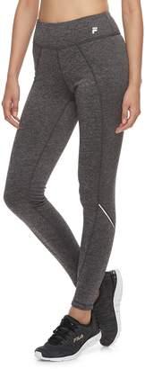 Fila Sport Women's SPORT Zipper-Pocket Mid-Rise Fleece Leggings