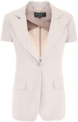 Salvatore Ferragamo Short-sleeved Jacket