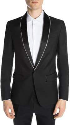 DSQUARED2 Crystal Border Tuxedo Jacket