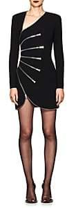 Alexander Wang Women's Zip-Detailed Minidress-Black