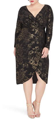 Rachel Roy Lauren Faux Wrap Dress