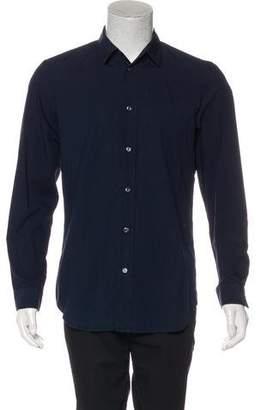Maison Margiela Woven Button-Up Shirt