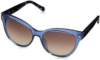 Fossil Women's Fos 2058/s Round Sunglasses