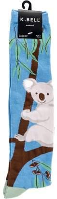 K. Bell Novelty Knee High Socks - G'Day Koalas