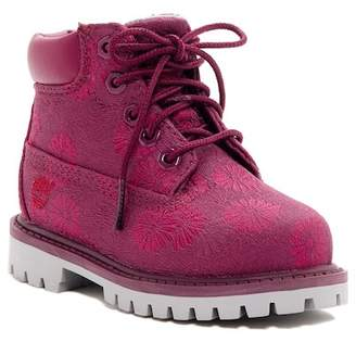 Timberland 6in Floral Classic Boot (Toddler & Little Kid)
