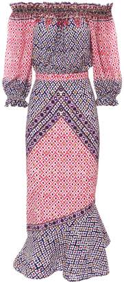 Saloni Grace Off Shoulder Dress