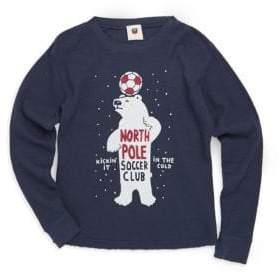 Little Boy's Polar Bear Cotton Sweater