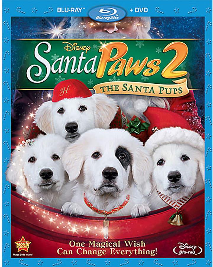 Disney Santa Paws 2: The Santa Pups Blu-ray and DVD Combo Pack