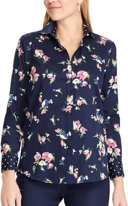 Chaps Women's No Iron Broadcloth Shirt