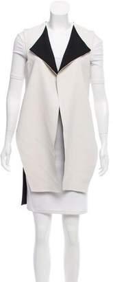 J. Mendel Asymmetrical Open Vest