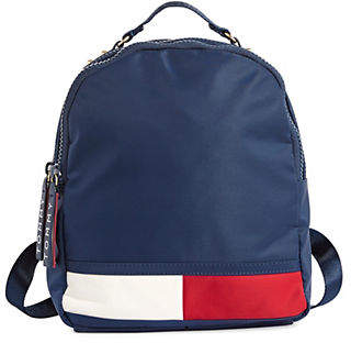 Tommy Hilfiger Double Top Zip Dome Backpack