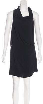 Helmut Lang Sleeveless Cowl Neck Dress