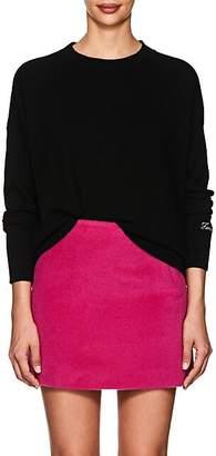 "Lisa Perry Women's ""Feminist"" Cashmere Sweater - Black"