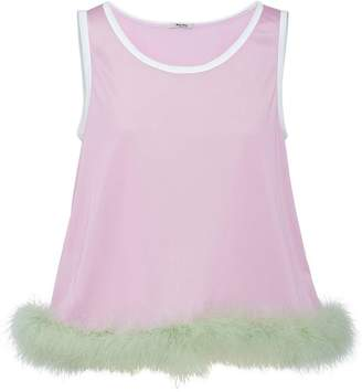 48d71c8248 Pink Feather Top - ShopStyle