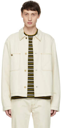Acne Studios Off-White Bla Konst Denim Unreal Jacket