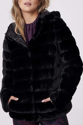 Frank Lyman Reversible Faux Fur