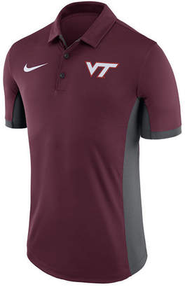 Nike Men Virginia Tech Hokies Evergreen Polo