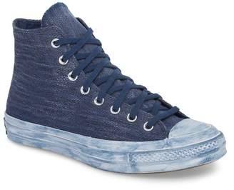 Converse Chuck Taylor(R) All Star(R) Overdyed Linen High Top Sneaker (Men)
